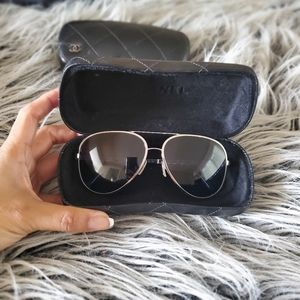 Chanel Aviator sunglasses